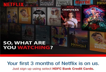 Netflix: 4 months Subscription at 1 month Cost offer Poster